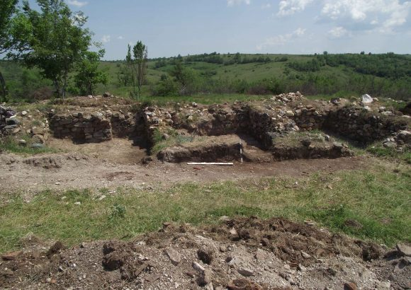 Excavation, village Voden